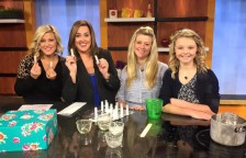 Smooch Lip Balm and The Lake Country Mom on The Morning Blend Milwaukee